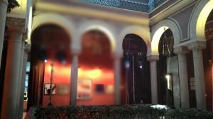 Interior do edifício